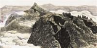 太行秋日 镜框 设色纸本 - 21569 - 名家作品(一) - 第16届广州国际艺术博览会名家作品拍卖会 -收藏网