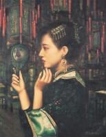 邸立丰 静思 - 邸立丰 - 中国油画 - 四季拍卖会(第56期) -收藏网