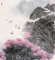 早春三月 镜心 设色纸本 - 孙日晓 - 中国书画 - 第55期中国艺术精品拍卖会 -收藏网