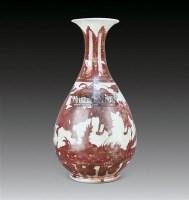 釉里仁人物故事纹玉壶春瓶 -  - 中国瓷器、杂项 - 2011夏季艺术品拍卖会 -中国收藏网
