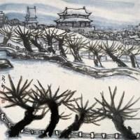 雪景 镜心 设色纸本 - 李宝林 - 中国近现代书画 - 2007迎春拍卖会 -收藏网