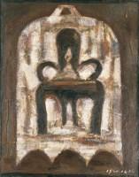 毛旭辉    有古钟的家长图 - 121799 - 中国当代艺术(二) - 2007春季拍卖会 -收藏网