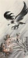 风雨雄鹰 立轴 设色纸本 - 蔡天涛 - 名家书画精品专场 - 2011年春拍艺术品拍卖会 -中国收藏网