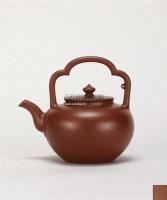 周桂珍 古珍提梁 -  - 中国当代高端工艺品 - 2011年春季拍卖会 -收藏网