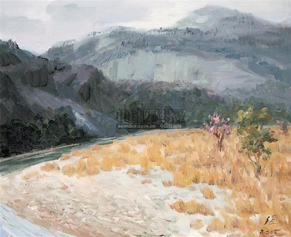 憩 布面油画 - 10302 - 油画 - 2007年油画拍卖会 -收藏网