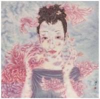 少女 镜心 设色纸本 -  - 中国书画(当代) - 2007春季艺术品拍卖会 -收藏网