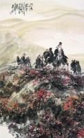 山水 镜心 设色纸本 - 吴泽浩 - 中国书画 - 2008第二季艺术品拍卖会 -收藏网