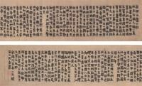 金农 书法手卷 手卷 水墨纸本 - 金农 - 中国书画油画 - 2006秋季艺术品拍卖会 -收藏网