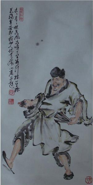 徐小庵    《濟公》 -  - 中国书画 - 2008春季艺术品 -中国收藏网