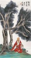 山水 镜心 设色纸本 - 119496 - 书画、油画及瓷杂 - 2006年秋季艺术品拍卖会 -中国收藏网