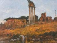风景 纸面 油画 - 颜文樑 - 中国油画 - 2006秋季艺术品拍卖会 -中国收藏网
