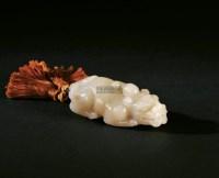 古兽把玩件 -  - 寿山石把玩、雕件专场 - 2011年秋季艺术品拍卖会 -中国收藏网