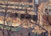 上海都市 布面油画 - 140894 - 绍晋斋暨立派艺术中心藏中国油画、雕塑、水彩 - 2006冬季艺术品拍卖会 -收藏网