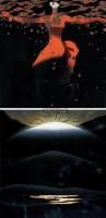 《流光》 《 祥云-雪域组画之一》 (二件) 纸本套色木刻  A/P - 李秀实 - 中国油画 - 2005秋季大型艺术品拍卖会 -收藏网