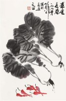 素食长寿 镜心 设色纸本 - 115997 - 精品书画专场 - 2011秋季艺术品拍卖会 -收藏网