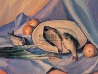静物 水彩纸本 - 张充仁 - 绍晋斋暨立派艺术中心藏中国油画、雕塑、水彩 - 2006冬季艺术品拍卖会 -收藏网