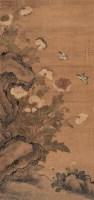 蒋延锡(1669-1732)菊花蝴蝶图 -  - 中国书画(二) - 2007秋季艺术品拍卖会 -收藏网