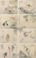 花鸟 册页 纸本 - 华嵒 - 中国书画(十) - 嘉德四季第二十六期拍卖会 -中国收藏网