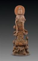黄杨木雕观音像 -  - 古董珍玩 - 2011春季艺术品拍卖会 -收藏网