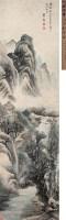 山水 立轴 设色纸本 - 盛茂烨 - 中国书画 - 2007年春季艺术品拍卖会 -收藏网