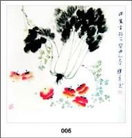 傅继英《白菜》 - 144660 - 中国书画 - 河南克瑞斯2008年夏季中国书画拍卖会 -中国收藏网