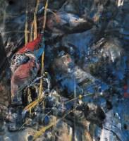 石齐 幽禽图 镜心 设色纸本 - 10469 - 中国书画(一) - 2006秋季艺术品拍卖会 -收藏网