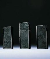 清   墨 (三方) -  - 古董珍玩日场 - 2009春季拍卖会 -收藏网