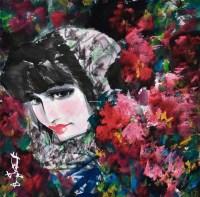 人物 镜片 设色纸本 - 3950 - 当代中国画名家专场 - 2011秋季艺术品拍卖会 -收藏网