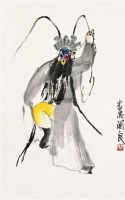 人物 镜心 设色纸本 - 139880 - 中国近现代书画 - 2011秋季拍卖会 -收藏网