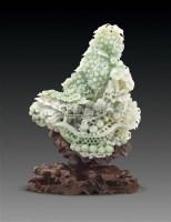 多子多福玉摆件 -  - 古董珍玩 - 2011春季艺术品拍卖会 -收藏网