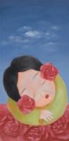 童振刚 无聊系列(一) 油画 - 童振刚 - 油画专场 - 2006首届艺术品拍卖会 -收藏网