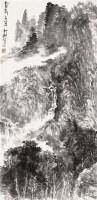 山水 镜片 设色纸本 - 117973 - 中国书画 - 2012年迎春艺术品拍卖会 -中国收藏网