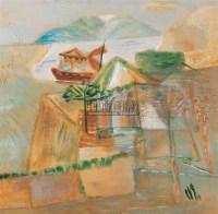 风景 布面 油画 - 冷宏 - 油画和水彩画 - 2007年春季艺术品拍卖会 -中国收藏网