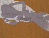 玫瑰色的裸体 布面 油画 - 徐微强 - 中国油画 - 2008年夏季拍卖会 -收藏网
