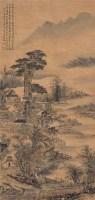 山水 立轴 设色纸本 - 吴湖帆 - 中国书画 - 2009春季拍卖会 -收藏网