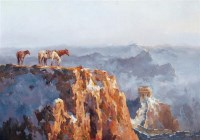 王阿敏 岁月 布面 油画 - 153386 - 油画 - 2006年金秋珍品拍卖会 -收藏网