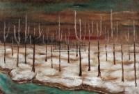 树林 布面油画 - 4289 - 油画专场 - 2006迎春首届大型艺术品拍卖会 -收藏网