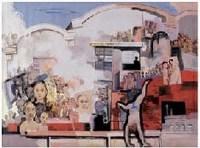大厂房 油彩 布面 - 庹光焰 - 中国油画及雕塑 - 2007年秋季拍卖会 -收藏网