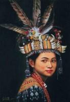 李自健 民族少女 - 1186 - 中国书画(一)(二) - 华伦伟业 08迎新春书画拍卖会 -中国收藏网