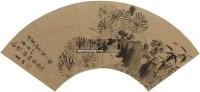 菊石图扇面 - 傅山 - 中国书画 - 2011春季拍卖会 -收藏网