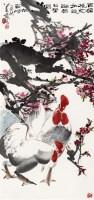 百媚桃花如欲语 软片 - 萧 焕 - 中国书画(一) - 2011秋季书画拍卖会 -收藏网