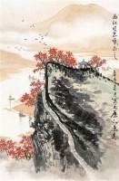 山水 画片 设色纸本 - 6978 - 中国书画(一) - 2011秋季拍卖会 -收藏网
