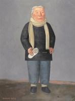 段建伟 1998年作 母亲 - 段建伟 - 中国油画雕塑 - 2006秋季拍卖会 -收藏网
