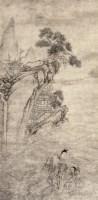 献寿图 立轴 水墨纸本 - 尤求 - 中国古代书画 - 2007年秋季大型艺术品拍卖会 -中国收藏网