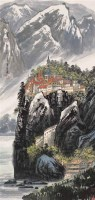 苗重安  莱茵河畔 镜心 - 苗重安 - 当代中国书画(二) - 2006畅月(55期)拍卖会 -中国收藏网