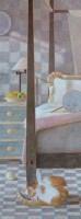 卧室里的安闲者 -  - 中国油画 - 2008春季中国油画拍卖会 -中国收藏网