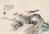 花鸟 镜片 设色纸本 - 4069 - 中国书画一 - 2011年秋季拍卖会 -收藏网