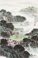 江南春晓 立轴 设色纸本 - 5002 - 中国书画(二) - 2011年秋季拍卖会 -收藏网