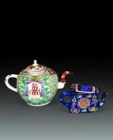 粉彩壶两件 -  - 瓷器杂项 - 2010春季艺术品拍卖会 -收藏网