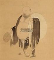 佛像 立轴 绢本 -  - 中国书画(一) - 庆二周年秋季拍卖会 -中国收藏网